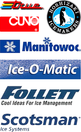 Manufacturers: true, Hoshizaki, Cuno, Manitowoc, Ice-O-Matic, Follet